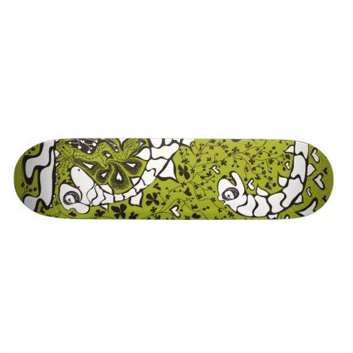 2 headed dragon skateboard deck