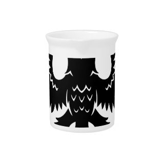 2 headed eagle beverage pitcher