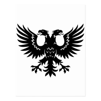 2 headed eagle postcard