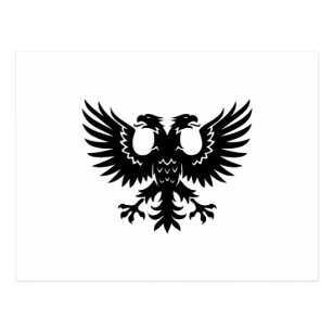 2 Headed Eagle Postcard