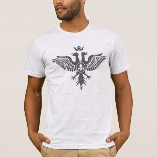 2 Headed Heraldic Crowned Eagle T-Shirt