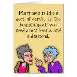 2 Hearts and a Diamond Card