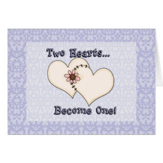 2 Hearts Become One (2) Card