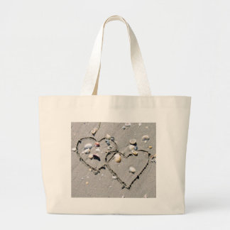 2 HEARTS, HEART TO HEART, LOTS OF LOVE TOTE BAG