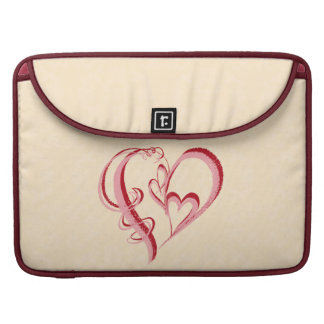 2 HEARTS IN 1 SLEEVE FOR MacBook PRO