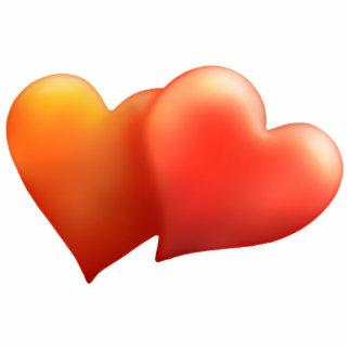 2 Hearts - Photo Sculpture