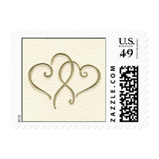 2 hearts postage