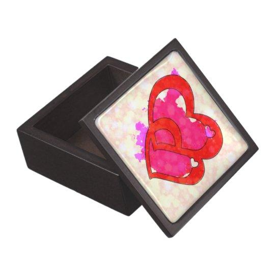 2 HEARTS Trinket Box