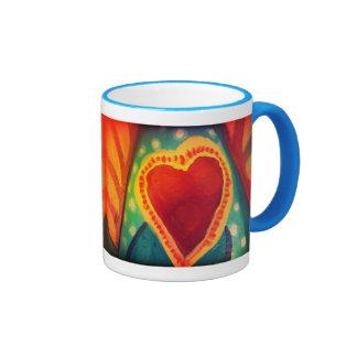 2 Hearts Wrap Around Mug