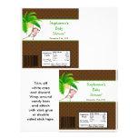 2 Hershey's Large Bar Wrapper Monkey Swing Jungle Flyer