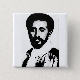 "2"" HIM Haile Selassie I Badge Pinback Button"