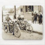 2 hombres en mousepad enorme de las motocicletas alfombrillas de raton