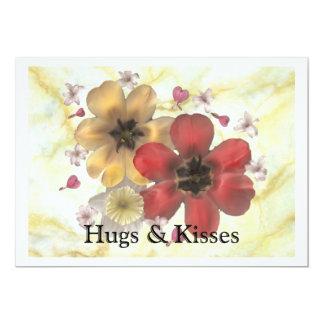 2 Hugs & Kisses Card