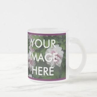 2 images here (Make your own mug) Frosted Glass Coffee Mug