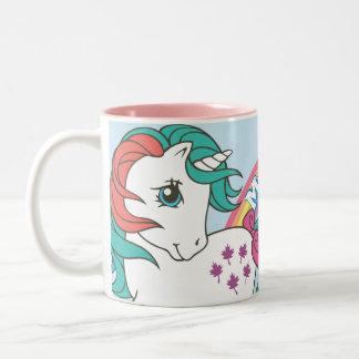 2 impetuosos taza de café de dos colores