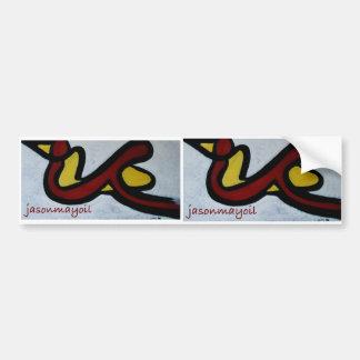 2 in 1 logo sticker