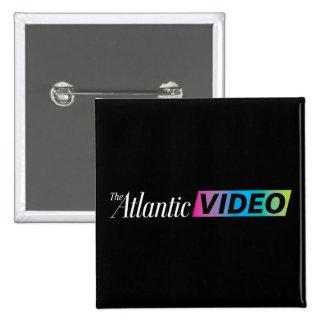 2 Inch Square Atlantic Video Button