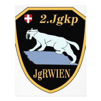 2. Jagerkompanie Jagerregiment Wien Personalized Letterhead