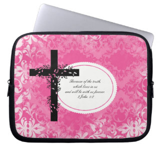 2 John 1:2 Laptop or Netbook Carrier Sleeve