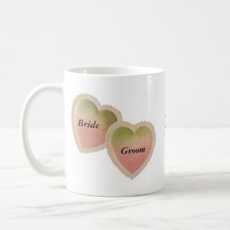 2 Joined Hearts mug