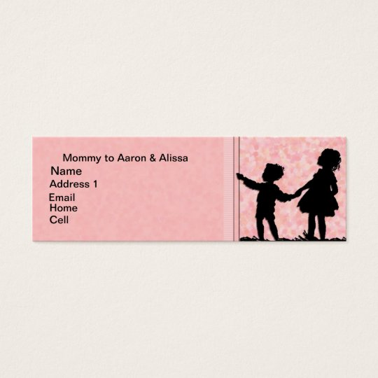 2 Kids Mommy Card