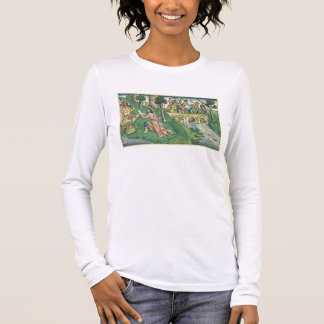 2 Kings 16 9-16 The people of Damascus are taken c Long Sleeve T-Shirt