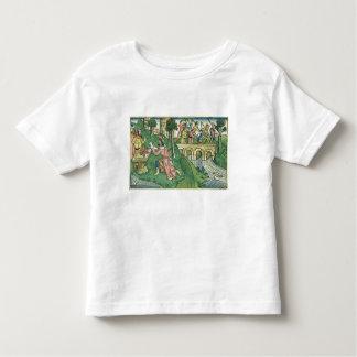 2 Kings 16 9-16 The people of Damascus are taken c Toddler T-shirt