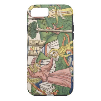 2 Kings 19 35-37 God's vengance on Assyria, from t iPhone 8/7 Case