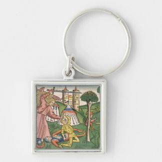 2 Kings 19 35-37 God's vengance on Assyria, from t Keychain
