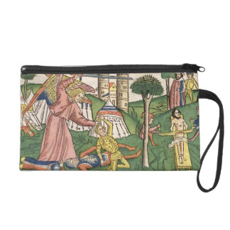 2 Kings 19 35-37 God's vengance on Assyria, from t Wristlet Purse