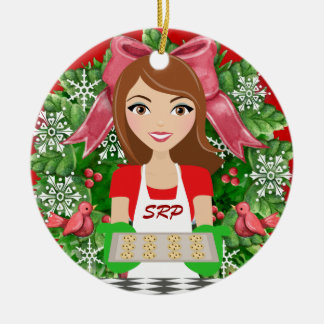 #2 Kitchen / Bakery - SRF Ceramic Ornament