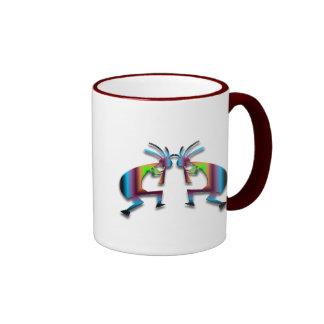 2 Kokopelli #42 Coffee Mugs