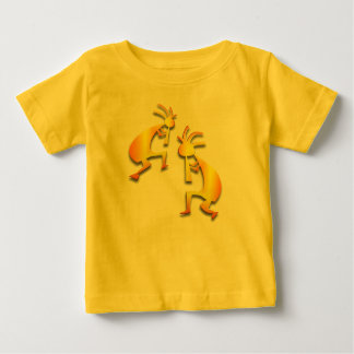 2 Kokopelli #8 Baby T-Shirt