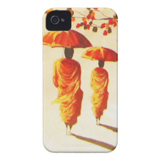 2 Laotian Buddhist Monks Case-Mate iPhone 4 Cases