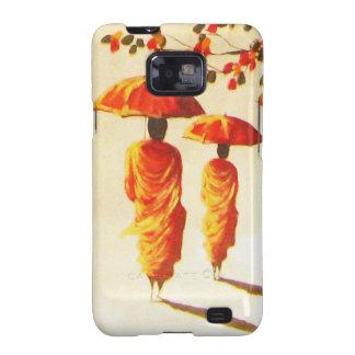 2 Laotian Buddhist Monks Samsung Galaxy SII Case