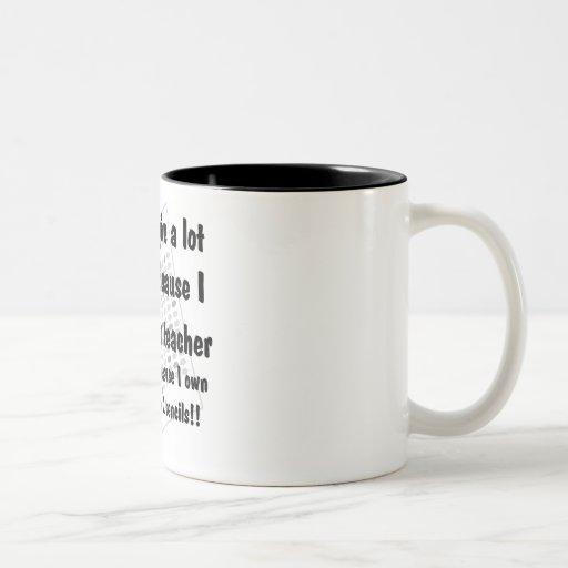 # 2 lápices taza de café