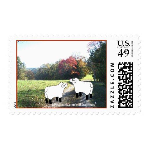 2 Lil Lambs Stamp