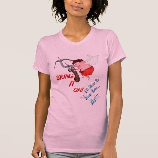 ¡2-Love… lo traen encendido!  Camiseta
