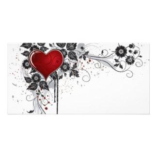 2 love vectors card