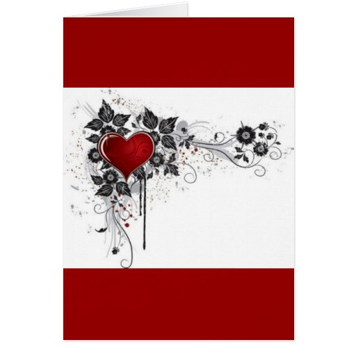 2 love vectors greeting card