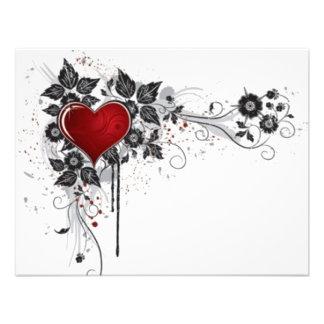 2 love vectors custom announcement