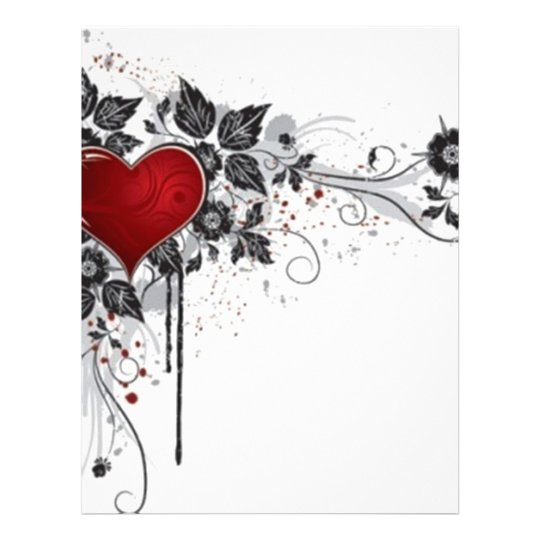 2 love vectors letterhead