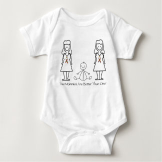 2 mamáes son mejores de 1 tshirts