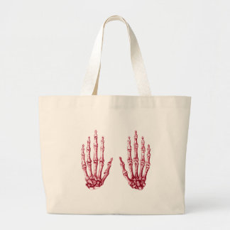 2 manos suben rojo bolsas