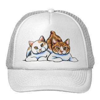 2 Manx Trucker Hat