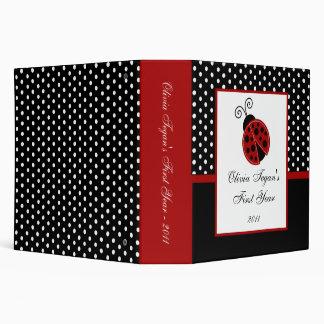 """2"""" mariquita del rojo del libro de recuerdos de la"""
