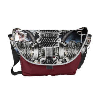 2 mecánicos estupendos - la bolsa de mensajero bolsas de mensajeria