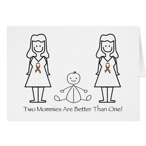 2 Moms Are Better Than 1 Card