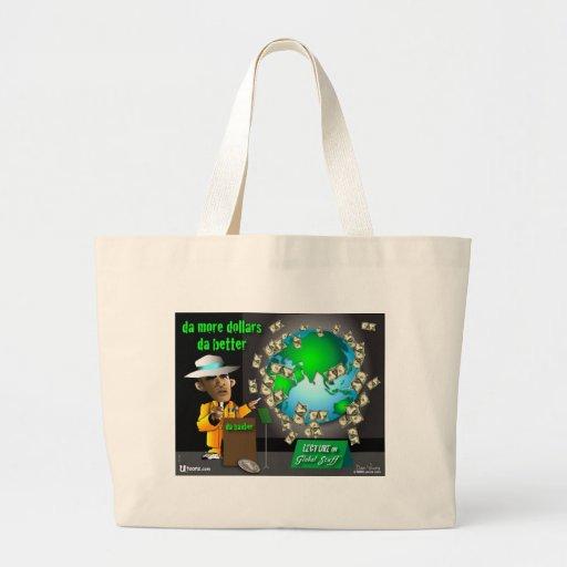 2 more da better jumbo tote bag