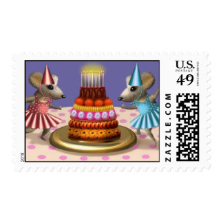2 Mouse Party Postage